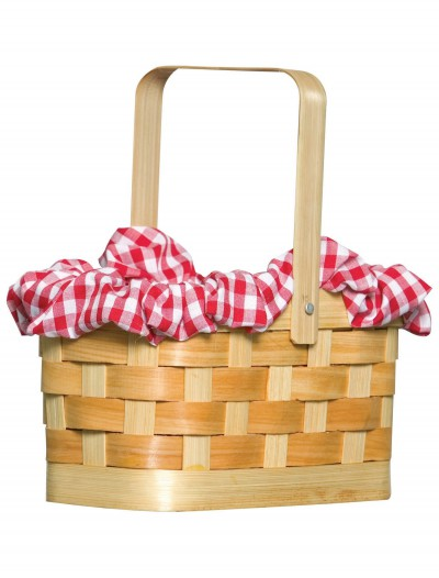 Gingham Basket Handbag, halloween costume (Gingham Basket Handbag)