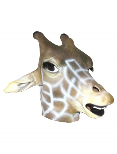 Giraffe Latex Mask, halloween costume (Giraffe Latex Mask)
