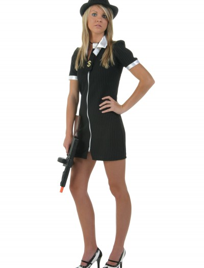 Girl Gangster Costume, halloween costume (Girl Gangster Costume)