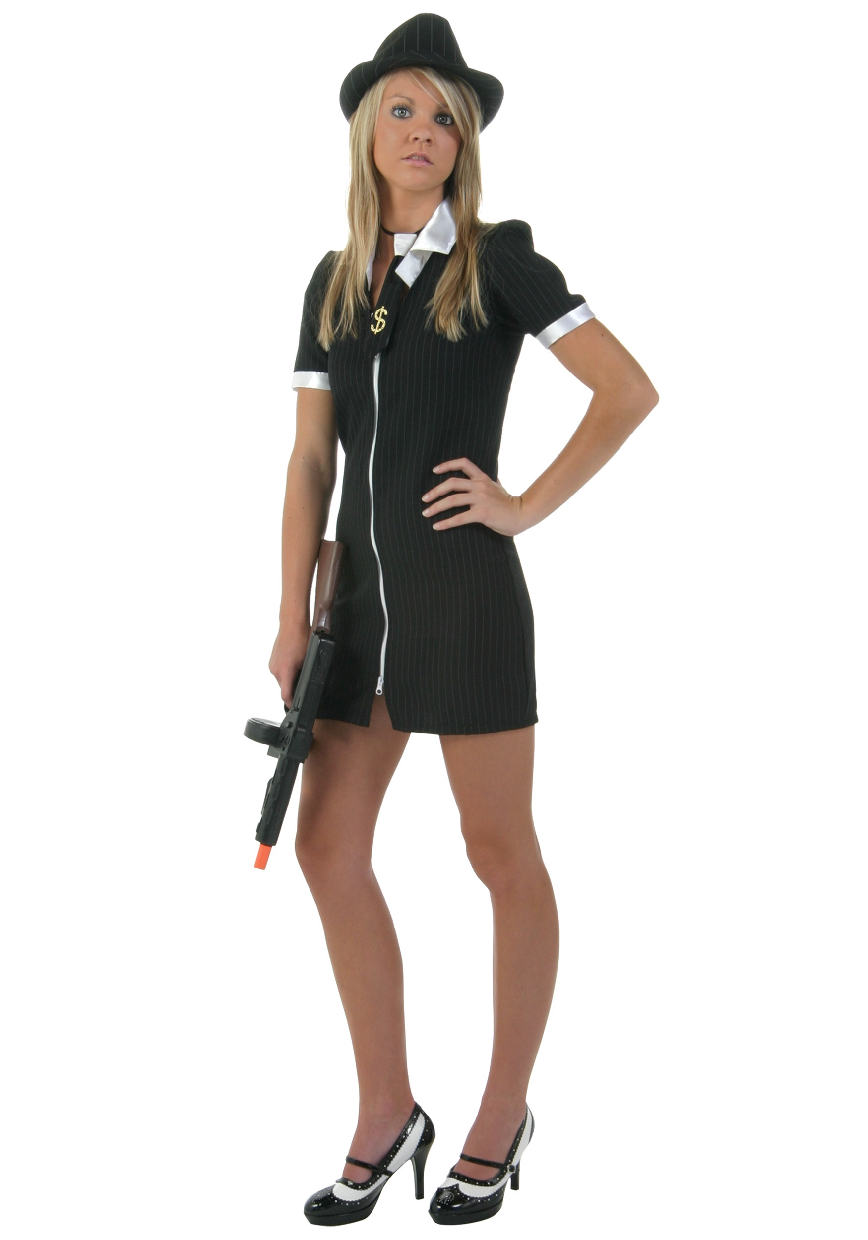 girl gangster costume - Halloween Mobster Costumes