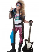 Girls 80s Glam Rocker Costume, halloween costume (Girls 80s Glam Rocker Costume)