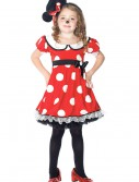 Girls Adorable Miss Mouse Costume, halloween costume (Girls Adorable Miss Mouse Costume)
