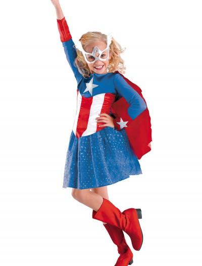 Girls American Dream Costume, halloween costume (Girls American Dream Costume)