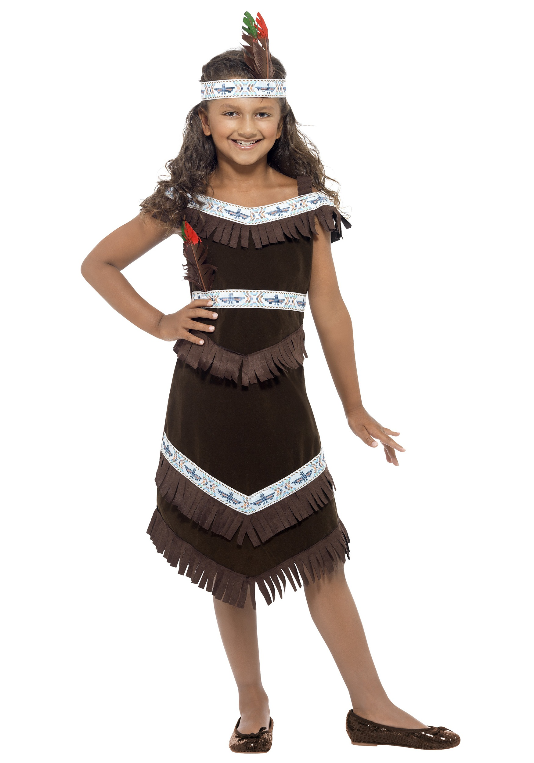 girls american indian costume