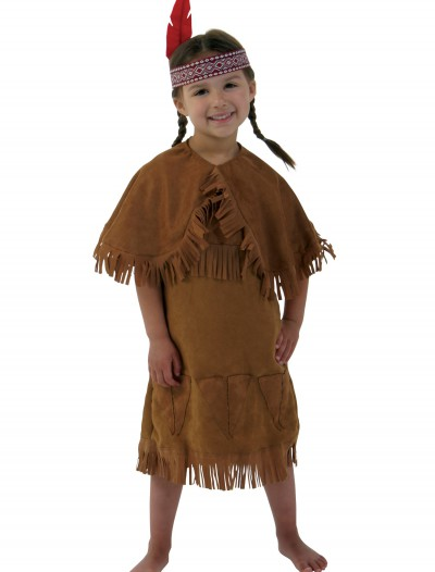 Girls American Indian Toddler Costume, halloween costume (Girls American Indian Toddler Costume)