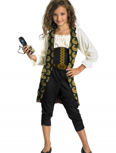 Girls Angelica Pirate Costume, halloween costume (Girls Angelica Pirate Costume)