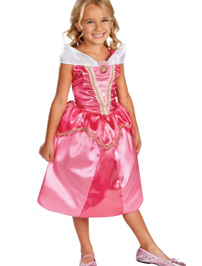 Girls Aurora Sparkle Classic Costume, halloween costume (Girls Aurora Sparkle Classic Costume)