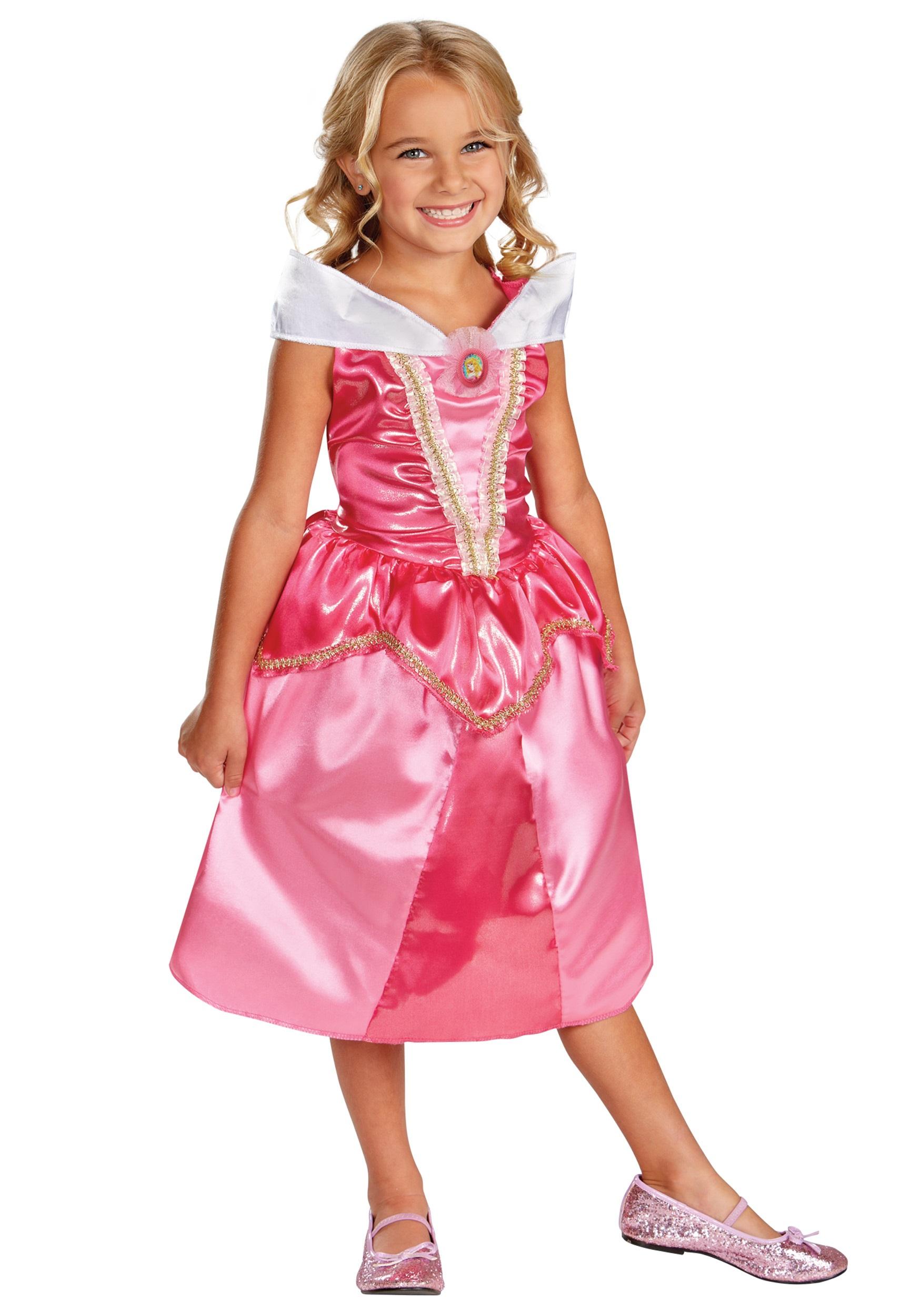 Girls Aurora Sparkle Classic Costume  sc 1 st  Halloween Costumes & Girls Aurora Sparkle Classic Costume - Halloween Costumes