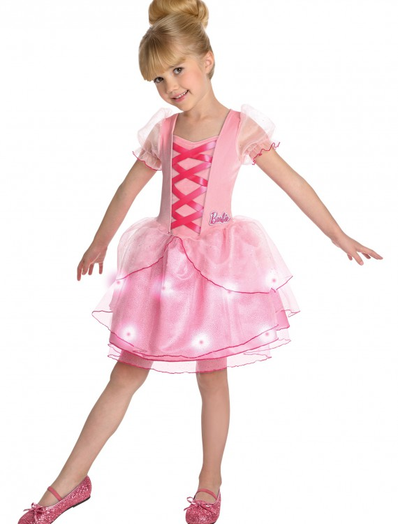 Girls Ballerina Barbie Costume, halloween costume (Girls Ballerina Barbie Costume)