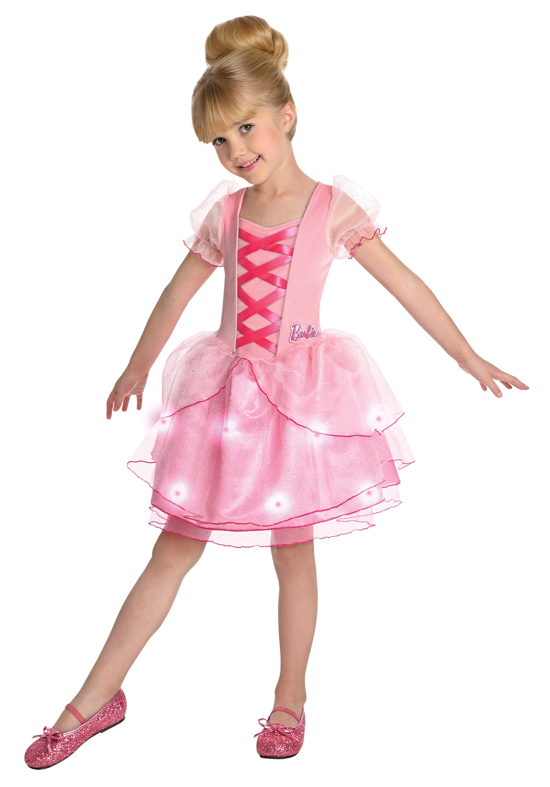 Girls Ballerina Barbie Costume  sc 1 st  Halloween Costumes & Girls Ballerina Barbie Costume - Halloween Costumes
