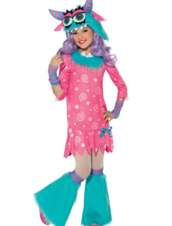 Girls Bedtime Monster Costume, halloween costume (Girls Bedtime Monster Costume)