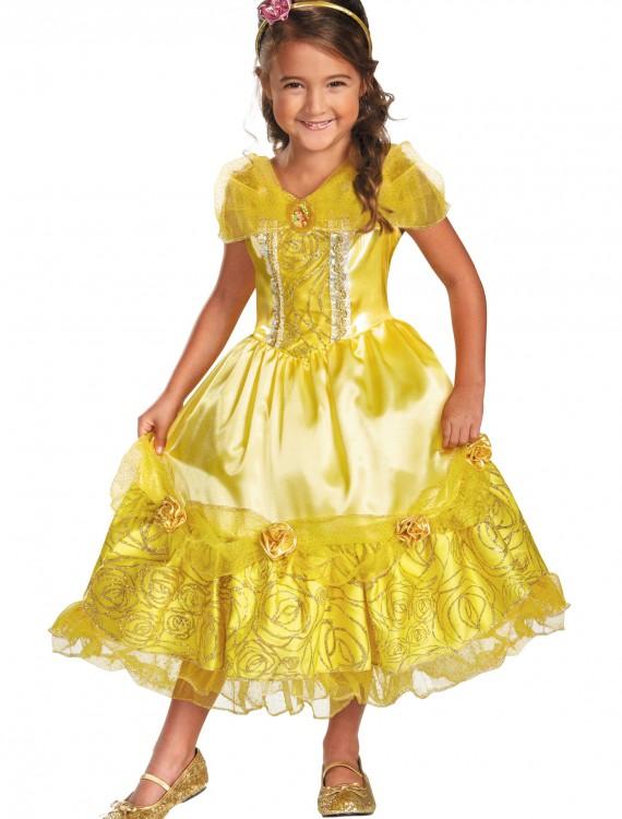 Girls Belle Sparkle Deluxe Costume, halloween costume (Girls Belle Sparkle Deluxe Costume)