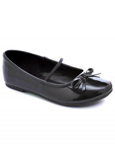 Girls Black Ballet Flats, halloween costume (Girls Black Ballet Flats)