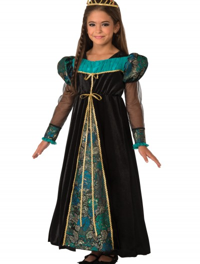 Girls Black Camelot Princess Costume, halloween costume (Girls Black Camelot Princess Costume)