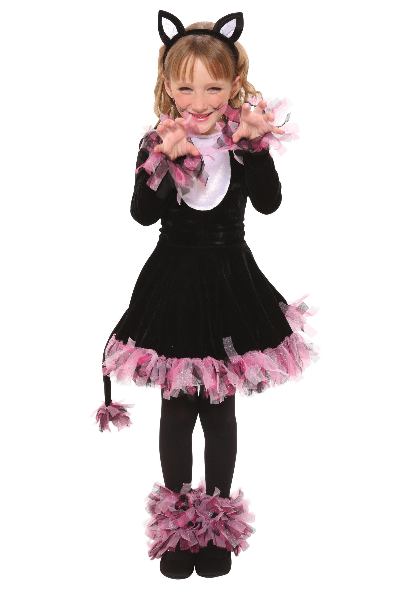 Girls Black Cat Costume  sc 1 st  Halloween Costumes & Girls Black Cat Costume - Halloween Costumes