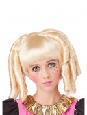 Girls Blonde Baby Doll Curls Wig with Bangs, halloween costume (Girls Blonde Baby Doll Curls Wig with Bangs)
