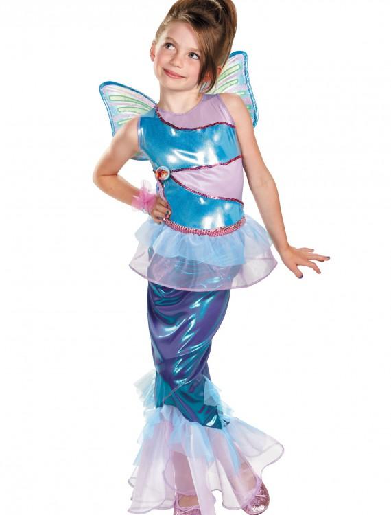 Girls Bloom Mermaid Deluxe Costume, halloween costume (Girls Bloom Mermaid Deluxe Costume)