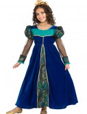 Girls Blue Camelot Princess Costume, halloween costume (Girls Blue Camelot Princess Costume)