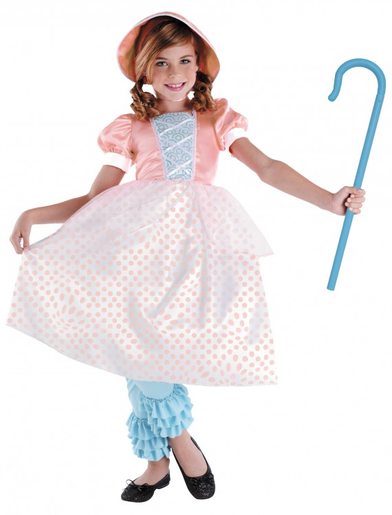 Girls Bo Peep Costume, halloween costume (Girls Bo Peep Costume)