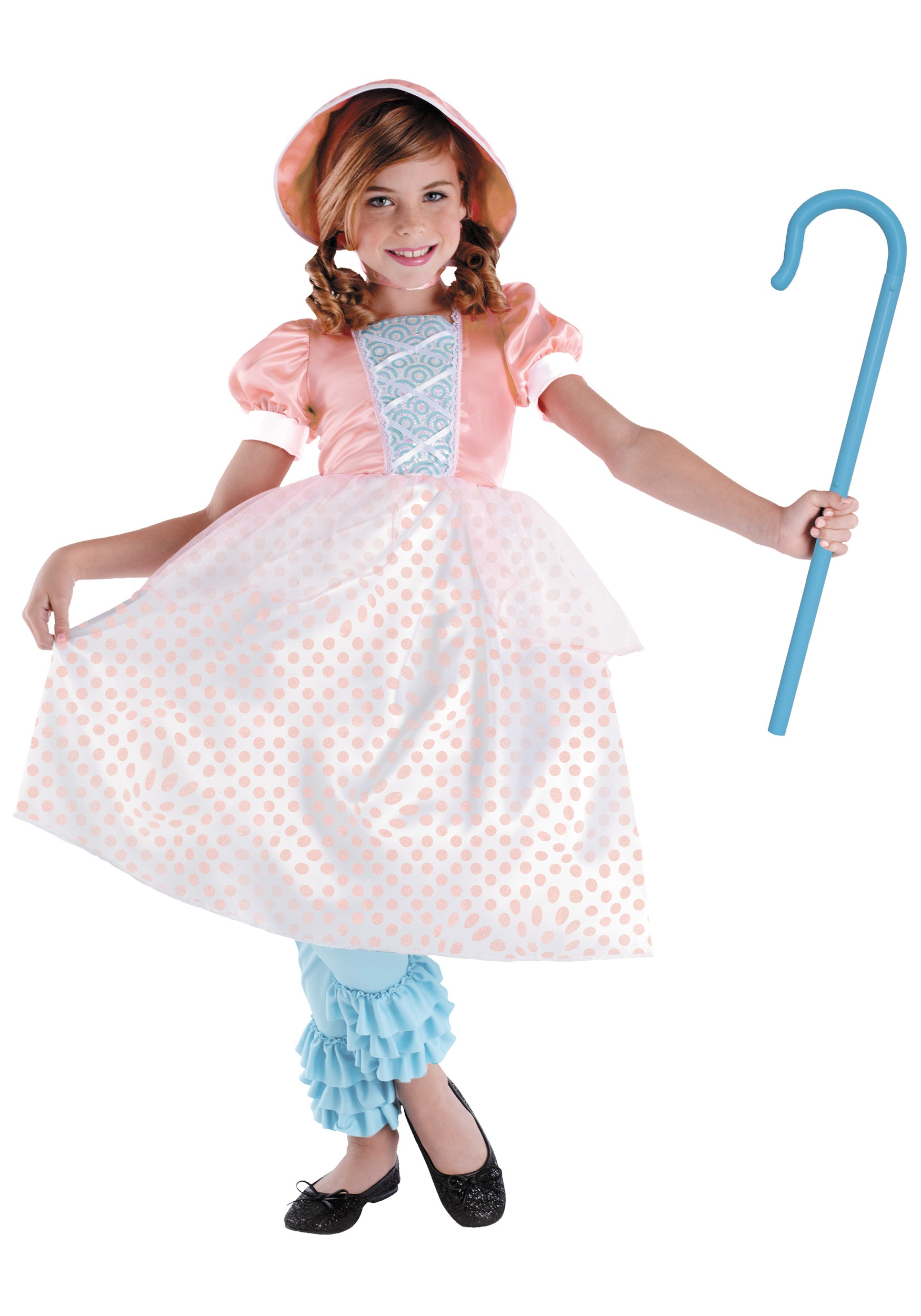Girls Bo Peep Costume  sc 1 st  Halloween Costumes & Girls Bo Peep Costume - Halloween Costumes