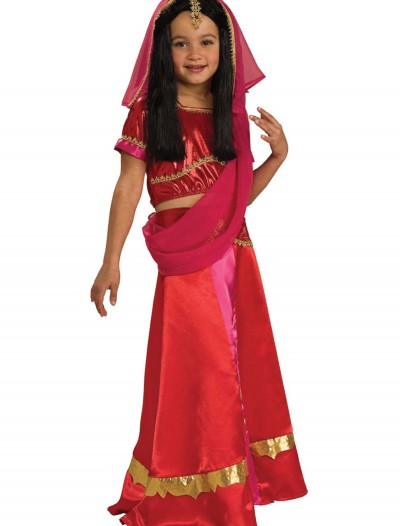 Girls Bollywood Princess Costume, halloween costume (Girls Bollywood Princess Costume)