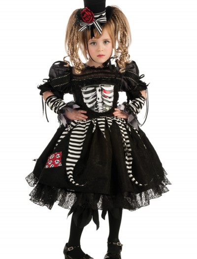 Girls Bones Costume, halloween costume (Girls Bones Costume)
