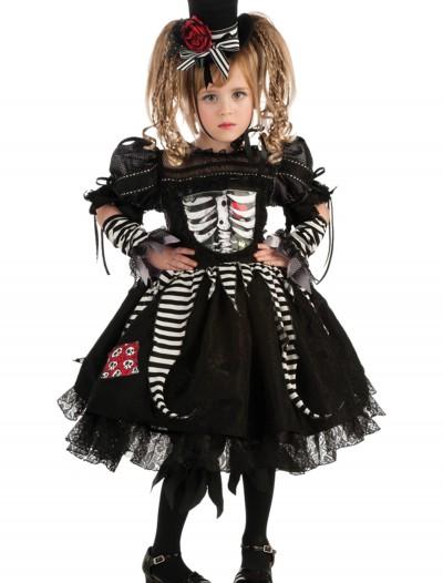 Girls Bones Costume, halloween costume (Girls Bones Costume)