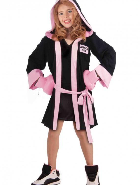 Girls Boxer Costume, halloween costume (Girls Boxer Costume)