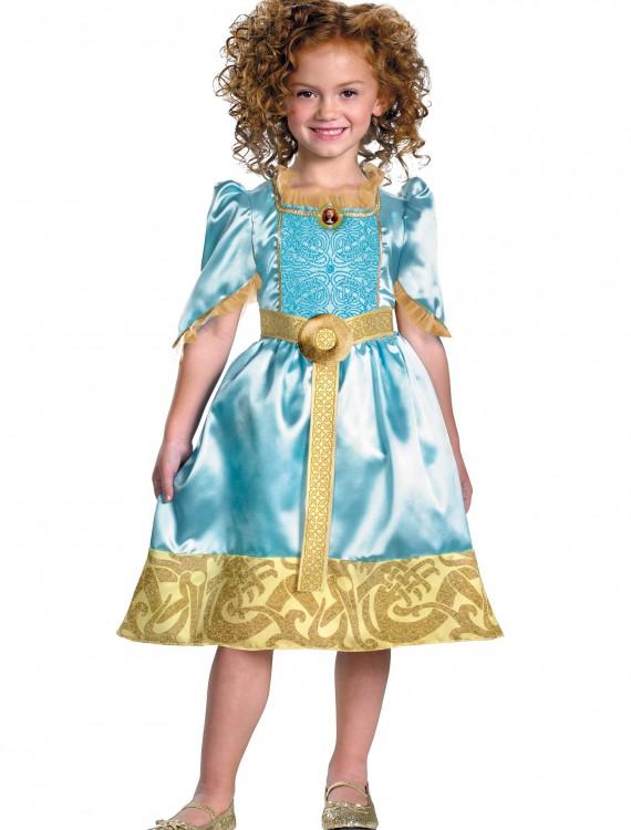 Girls Brave Merida Costume, halloween costume (Girls Brave Merida Costume)