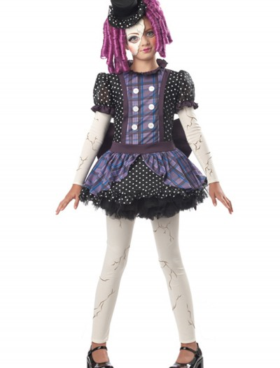 Girls Broken Doll Costume, halloween costume (Girls Broken Doll Costume)
