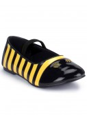 Girls Bumble Bee Shoes, halloween costume (Girls Bumble Bee Shoes)
