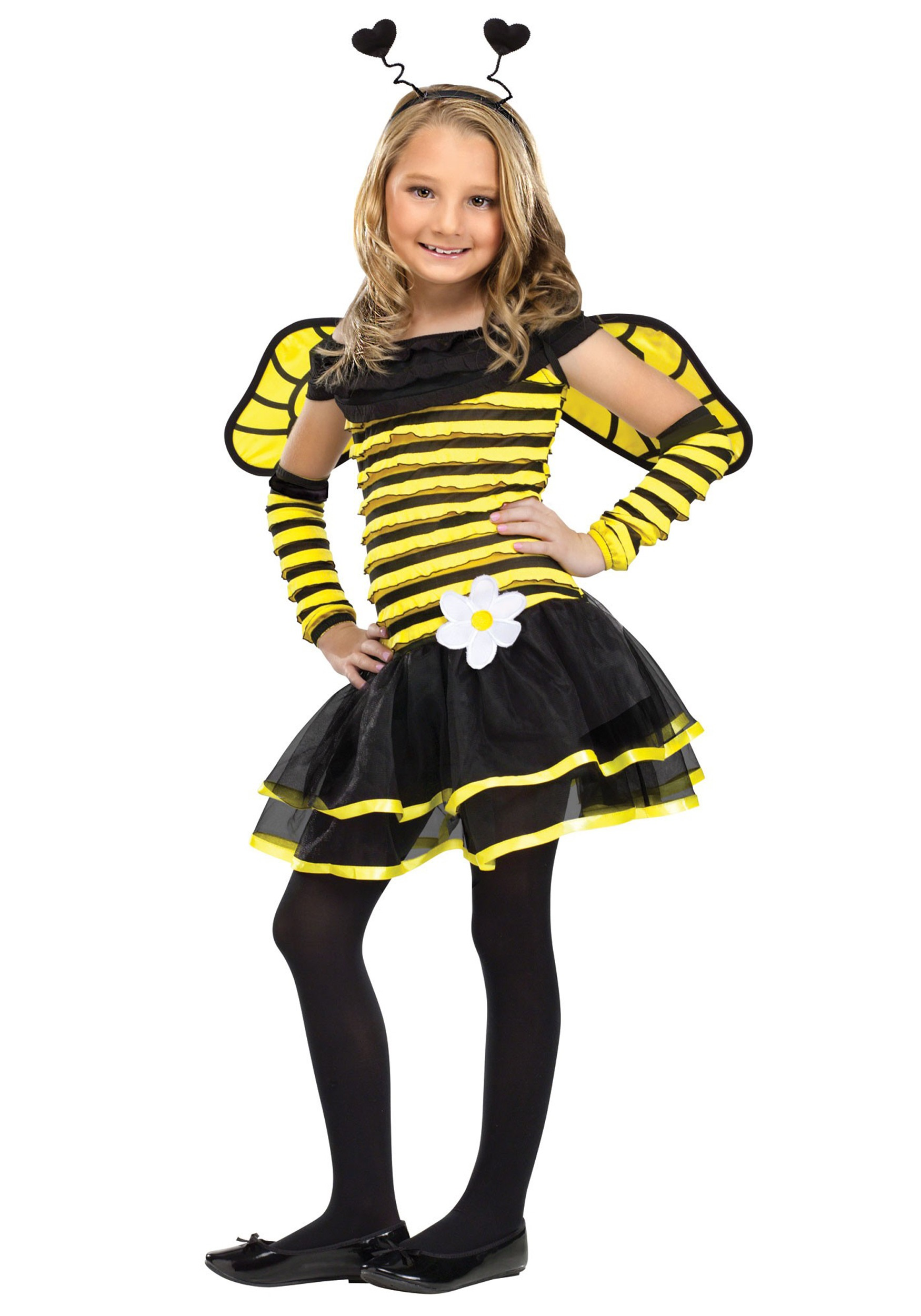 Girls Busy Bee Costume  sc 1 st  Halloween Costumes & Girls Busy Bee Costume - Halloween Costumes