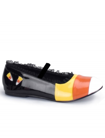 Girls Candy Corn Shoes, halloween costume (Girls Candy Corn Shoes)