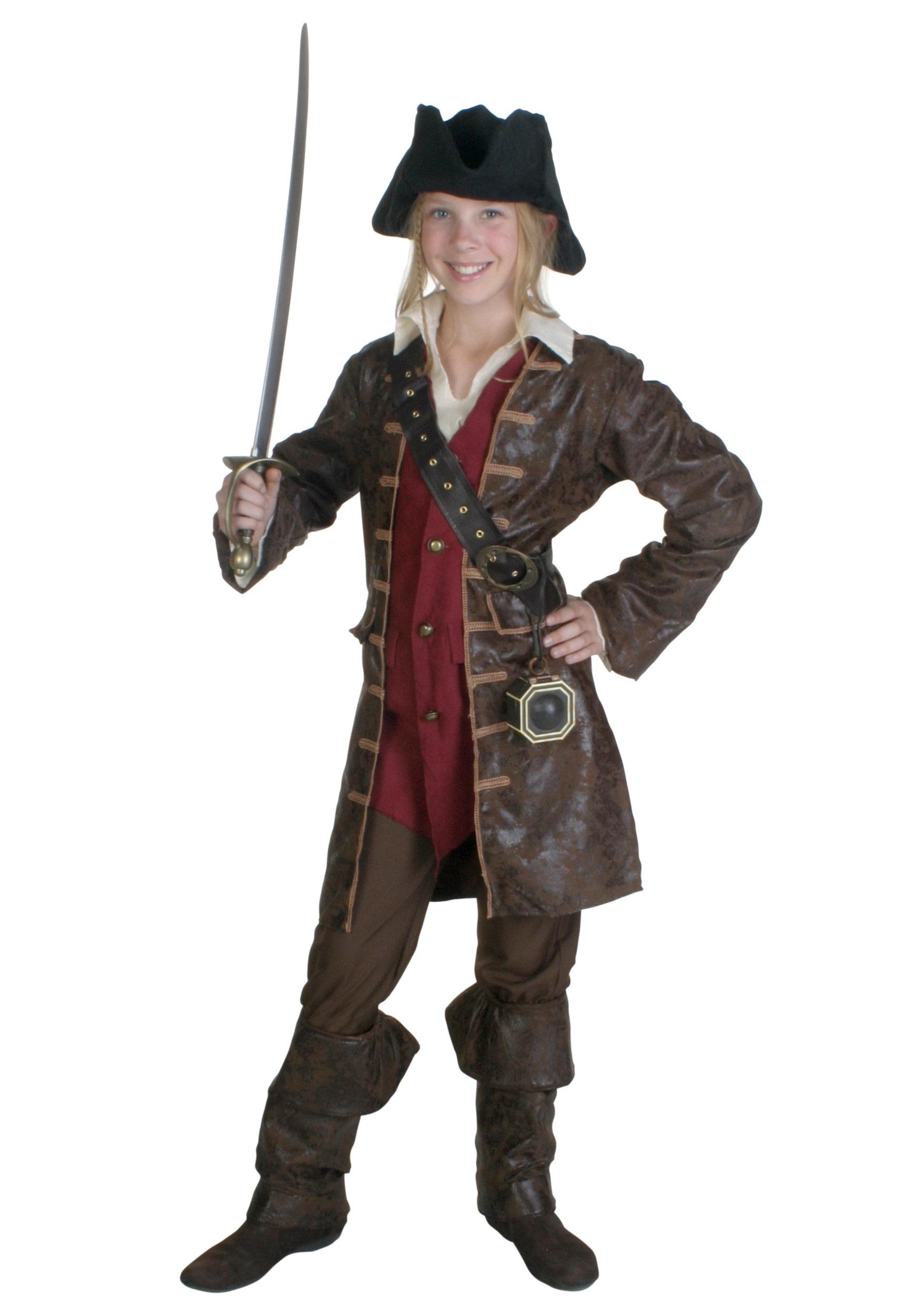 Girls Caribbean Pirate Costume  sc 1 st  Halloween Costumes & Girls Caribbean Pirate Costume - Halloween Costumes