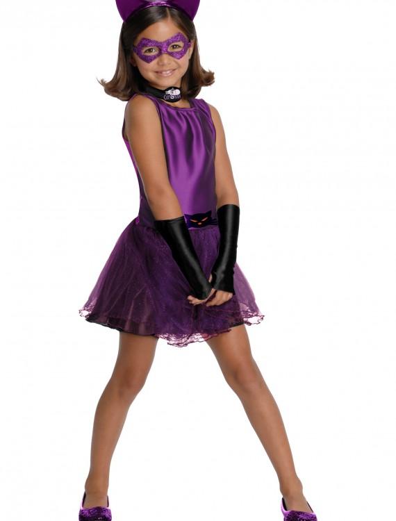 Girls Catwoman Tutu Costume, halloween costume (Girls Catwoman Tutu Costume)