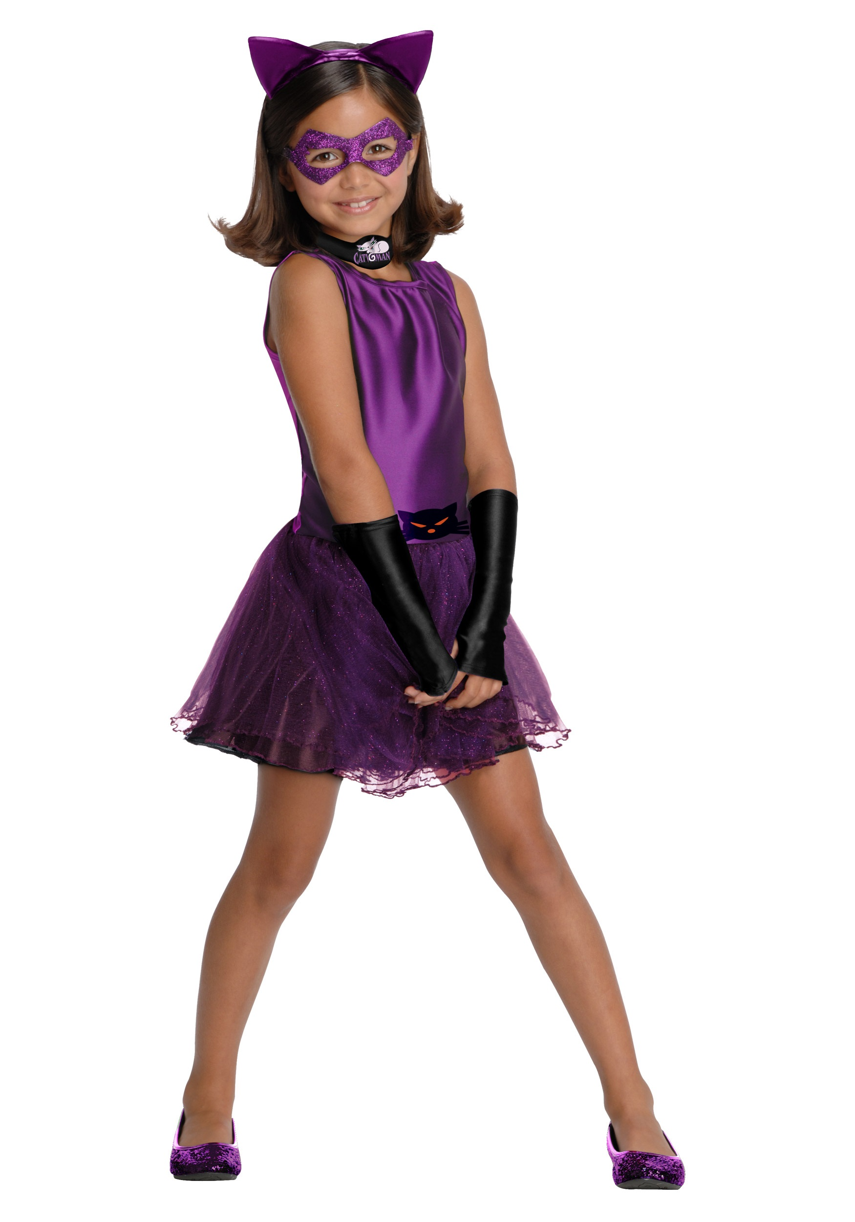 Girls Catwoman Tutu Costume  sc 1 st  Halloween Costumes & Girls Catwoman Tutu Costume - Halloween Costumes