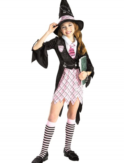 Girls Charm School Witch Costume, halloween costume (Girls Charm School Witch Costume)