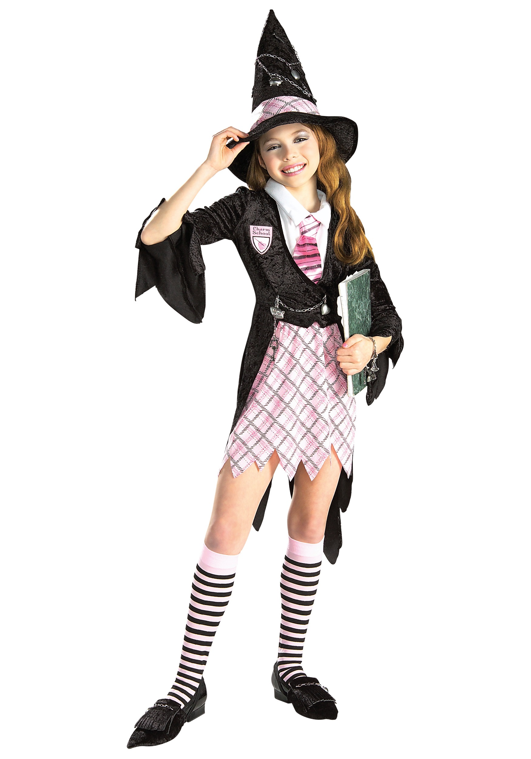 girls charm school witch costume