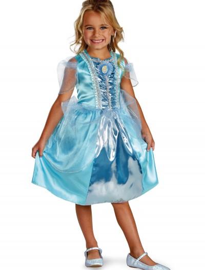 Girls Cinderella Sparkle Classic Costume, halloween costume (Girls Cinderella Sparkle Classic Costume)
