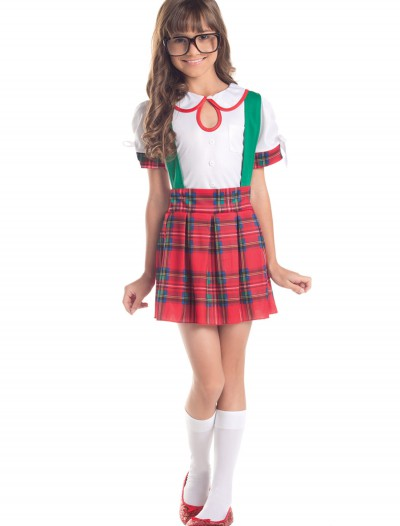 Girls Classroom Nerd Costume, halloween costume (Girls Classroom Nerd Costume)