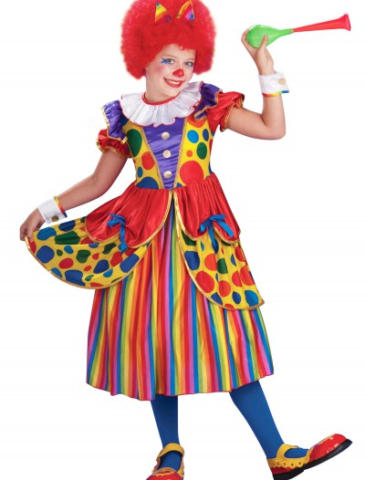 Girls Clown Princess Costume, halloween costume (Girls Clown Princess Costume)