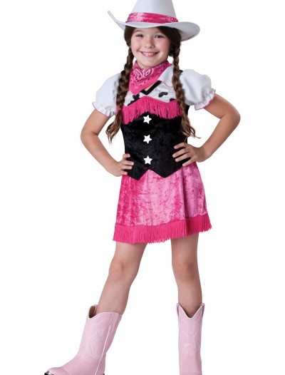 Girls Cowgirl Cutie Costume, halloween costume (Girls Cowgirl Cutie Costume)