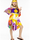 Girls Daisy Hippie Costume, halloween costume (Girls Daisy Hippie Costume)