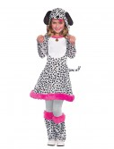 Girls Dalmatian Costume, halloween costume (Girls Dalmatian Costume)