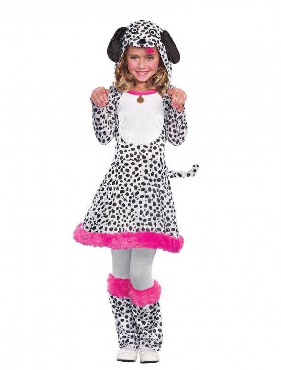 Girls Dalmatian Costume, halloween costume (Girls Dalmatian Costume)