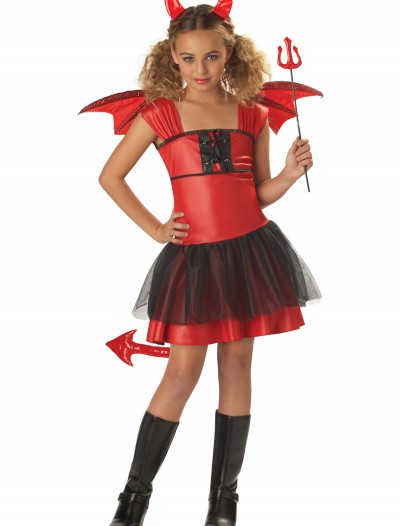 Girls Darling Devil Costume, halloween costume (Girls Darling Devil Costume)
