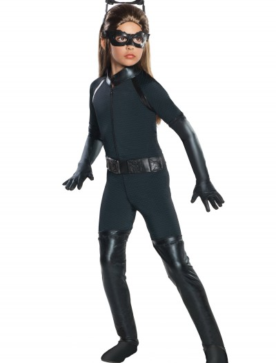 Girls Deluxe Catwoman Costume, halloween costume (Girls Deluxe Catwoman Costume)