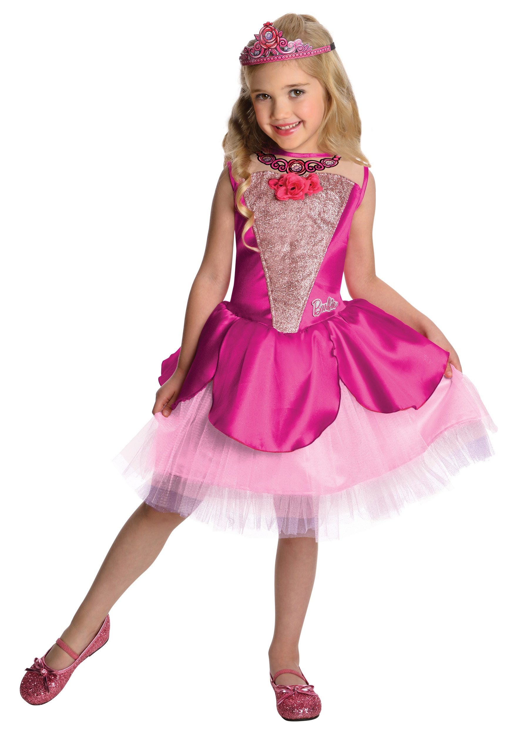 Girls Deluxe Kristyn Barbie Costume  sc 1 st  Halloween Costumes & Girls Deluxe Kristyn Barbie Costume - Halloween Costumes
