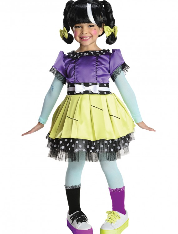 Girls Deluxe Lalaloopsy Scraps Stitch and Sew Costume, halloween costume (Girls Deluxe Lalaloopsy Scraps Stitch and Sew Costume)