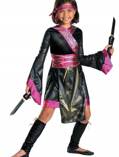 Girls Dragon Ninja Costume, halloween costume (Girls Dragon Ninja Costume)